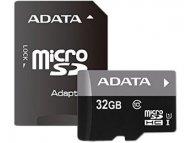 ADATA UHS-I MicroSDHC 32GB class 10 + adapter AUSDH32GUICL10-RA1