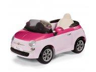 Per Perego Auto na akumulator Fiat 500 6v Rosa/Fucsia