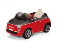Per Perego Auto na akumulator Fiat 500 6v Rossa/Grigio