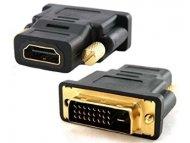 E-GREEN Adapter DVI-D Dual Link (M) - HDMI (F) crni