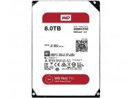 WESTERN DIGITAL 8TB 3.5 SATA III 128MB 7.200rpm WD8001FFWX Red Pro