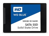WESTERN DIGITAL 500GB 2.5 SATA III WDS500G2B0A Blue SSD