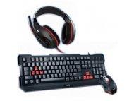 GENIUS Genius KMH-200 KB + Mouse + Headset Combo YU