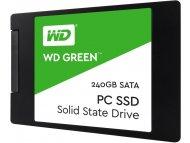 WESTERN DIGITAL 240GB 2.5 SATA III WDS240G2G0A Green SSD