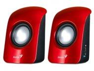 GENIUS SP-U115 2.0 crveni zvučnici