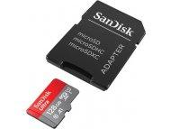 SANDISK MEM MICROSDHC 128GB Sandisk Ultra + adapter