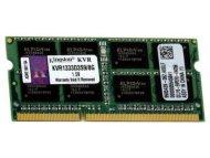 KINGSTON SODIMM DDR3 8GB 1333MHz KVR1333D3S9/8G
