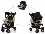 Hauck Duo set (kolica+auto sedište)Shopper Shop n Drive Caviar Beige