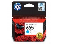 HP No.655Cyan Ink Cartridge CZ110AE