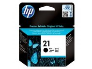 HP No.21 Black Inkjet Print Cartridge C9351AE