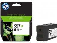 HP 957XL High Yield Black Original Ink Cartridge L0R40AE