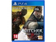 NAMCO BANDAI PS4 Dark Souls 3 - Witcher 3: The Wild Hunt Compilation