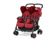 Peg Perego KOLICA ARIA SHOPPER TWIN CLASS.GEO RED