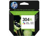 HP 304XL Tri-color Original Ink Advantage Cartridge N9K07AE