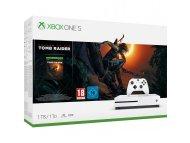 MICROSOFT XBOX ONE S 1TB White + Shadow Of The Tomb Raider