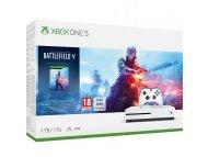MICROSOFT XBOX ONE S 1TB White + Battlefield 5