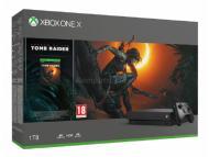 MICROSOFT XBOX ONE X 1TB Black + Shadow Of The Tomb Raider