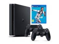 SONY PlayStation 4 Slim 500GB + Dodatni kontroler DS4 + Fifa 19