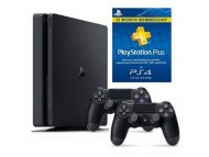 SONY Playstation 4 F 500GB + kontroler DS4 + PS pretplata 365 dana
