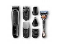 BRAUN MGK5060 8u1 komplet trimer+brijač Gillette Fusion5 ProGlide