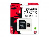KINGSTON UHS-I MicroSDXC 256GB 80R class 10 SDCS/256GB + adapter