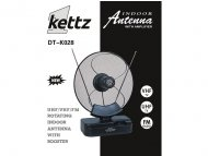 Kettz Kettz  DT-K028  Sobna TV/FM antena + pojačivač