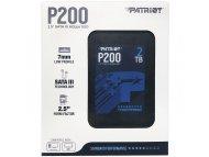 PATRIOT SSD 2.5 SATA3 2TB Patriot P200 530MBS/460MBS P200S2TB25