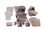Lorelli Bertoni Kolica Toledo Set Beige INDIAN BEAR