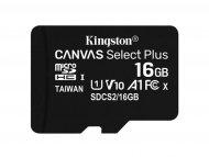 KINGSTON MICRO SD 16GB, SDCS2/16GBSP