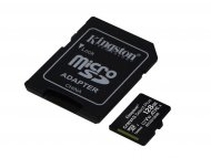 KINGSTON MICRO SD 128GB + SD adapter, SDCS2/128GB
