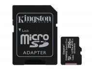 KINGSTON MICRO SD 256GB + SD adapter, SDCS2/256GB
