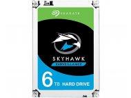 SEAGATE 6TB 3.5'' SATA III 256MB ST6000VX001 SkyHawk Surveillance HDD