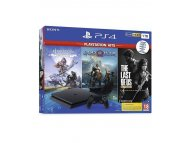 PLAYSTATION PS4 1TB + 3 igre (GoW + HZD + TLOU)