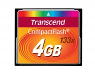 TRANSCEND COMPACT FLASH CARD 4GB TS4GCF133