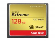 SANDISK COMPACT FLASH CARD.128GB Extreme SDCFXSB-128G-G46