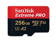 SANDISK MICRO SD.256GB Extreme Pro + ad. SDSQXCZ-256G-GN6MA
