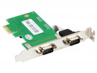E-GREEN PCI Express kontroloer 2-port (RS-232.DB-9)