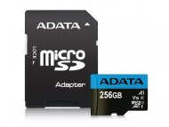 A DATA UHS-I MicroSDXC 256GB class 10 + adapter AUSDX256GUICL10A1-RA1