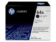 HP 64A Black Original LaserJet Toner Cartridge, CC364A