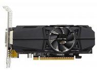 GIGABYTE NVidia GeForce GTX 1050 Ti, 4GB, 128bit, GV-N105TOC-4GL rev.1.0