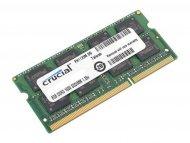 CRUCIAL SODIMM 8GB DDR3, 1600 MHz, CL11, CT102464BF160B