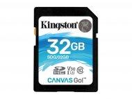 KINGSTON SDXC 32GB Class 10 V30 UHS-I, 90MB/s-45MB/s, SDG/32GB