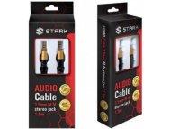 STARK Kabl audio 3.5mm na 3.5mm M-M (High sound quality) 1.5m.