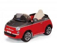PEG PEREGO FIAT 500 RED/GRIGIA BEZ DALJINSKOG IGED1161