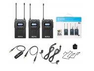 BOYA BY-WM8 PRO-K2 UHF bežični audio set (transmiter + 2 bubice)