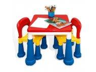 PERTINI Kreativno didaktički stočić sa stolicama
