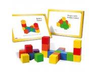 PERTINI Drvene kocke brojalice sa 34 zadatka