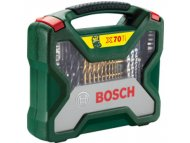 BOSCH zeleni alat 70-delni X-Line Titanium set 2607019329