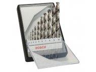 BOSCH plavi alat 10-delni Robust Line set burgija za metal HSS-G DIN 338 135° 2607010535