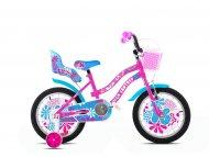 ADRIA BMX 16''HT FANTASY pink-plavo